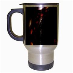 Pattern Fractal Abstract 3840x2400 Travel Mug (silver Gray)