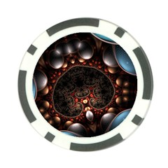 Pattern Fractal Abstract 3840x2400 Poker Chip Card Guard