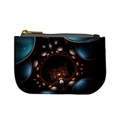 Pattern Fractal Abstract 3840x2400 Mini Coin Purses