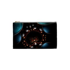 Pattern Fractal Abstract 3840x2400 Cosmetic Bag (small)