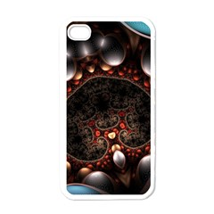 Pattern Fractal Abstract 3840x2400 Apple Iphone 4 Case (white)