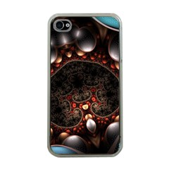 Pattern Fractal Abstract 3840x2400 Apple Iphone 4 Case (clear)