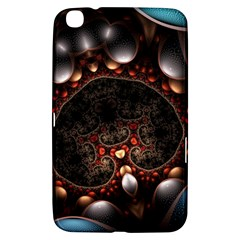 Pattern Fractal Abstract 3840x2400 Samsung Galaxy Tab 3 (8 ) T3100 Hardshell Case