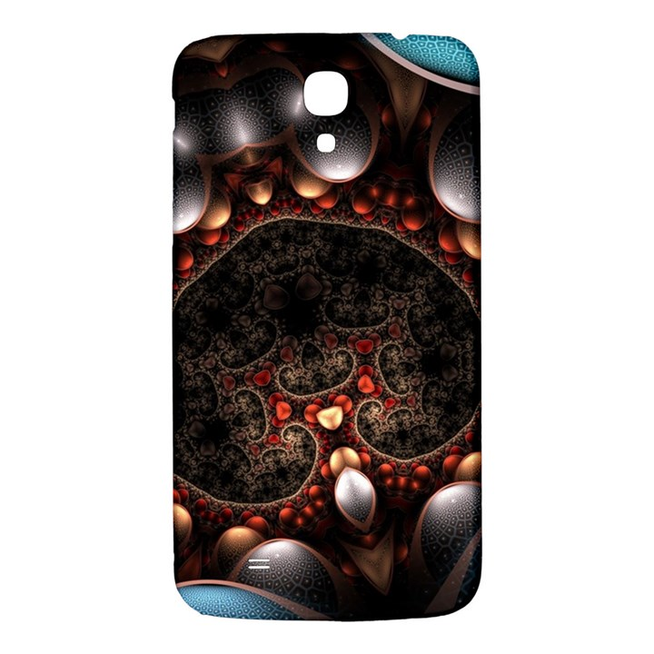 Pattern Fractal Abstract 3840x2400 Samsung Galaxy Mega I9200 Hardshell Back Case