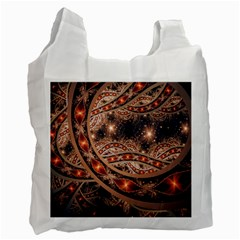 Fractal Patterns Abstract  Recycle Bag (one Side)