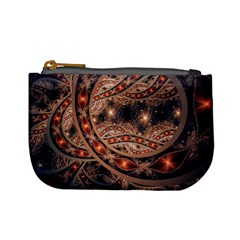 Fractal Patterns Abstract  Mini Coin Purses