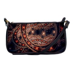 Fractal Patterns Abstract  Shoulder Clutch Bags