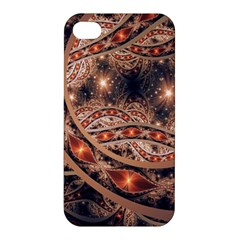 Fractal Patterns Abstract  Apple Iphone 4/4s Hardshell Case