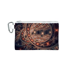 Fractal Patterns Abstract  Canvas Cosmetic Bag (s)