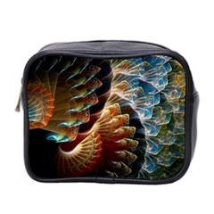 Fractal Patterns Abstract 3840x2400 Mini Toiletries Bag 2 Side