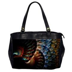 Fractal Patterns Abstract 3840x2400 Office Handbags