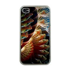 Fractal Patterns Abstract 3840x2400 Apple Iphone 4 Case (clear)