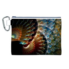 Fractal Patterns Abstract 3840x2400 Canvas Cosmetic Bag (l)