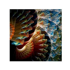 Fractal Patterns Abstract 3840x2400 Small Satin Scarf (square)