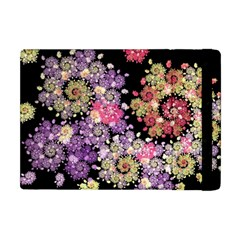 Abstract Patterns Fractal  Apple Ipad Mini Flip Case