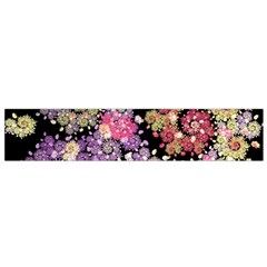Abstract Patterns Fractal  Flano Scarf (small)