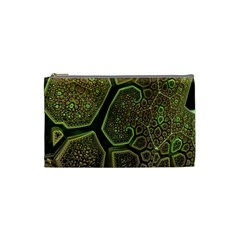 Fractal Weave Shape  Cosmetic Bag (small)