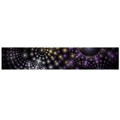 Fractal Patterns Dark Flano Scarf (large)