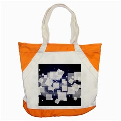 Squares Shapes Many  Accent Tote Bag
