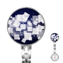 Squares Shapes Many  Stainless Steel Nurses Watch