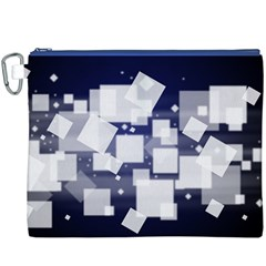 Squares Shapes Many  Canvas Cosmetic Bag (xxxl)