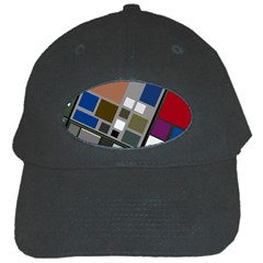 Abstract Composition Black Cap
