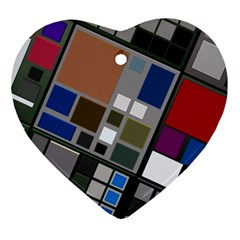 Abstract Composition Ornament (heart)