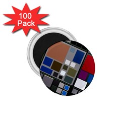 Abstract Composition 1 75  Magnets (100 Pack)