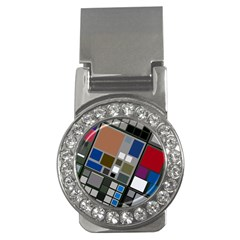 Abstract Composition Money Clips (cz)