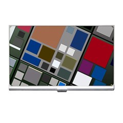 Abstract Composition Business Card Holders