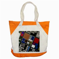 Abstract Composition Accent Tote Bag