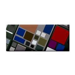 Abstract Composition Cosmetic Storage Cases