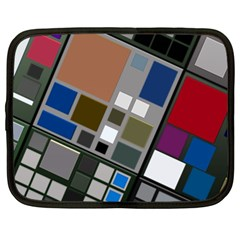 Abstract Composition Netbook Case (xxl)