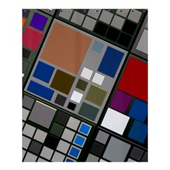 Abstract Composition Shower Curtain 60  X 72  (medium)