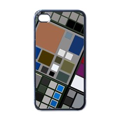 Abstract Composition Apple Iphone 4 Case (black)