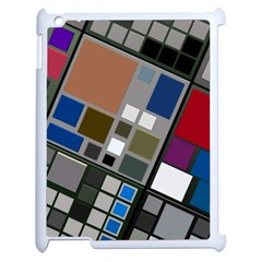 Abstract Composition Apple Ipad 2 Case (white)