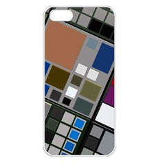 Abstract Composition Apple Iphone 5 Seamless Case (white)