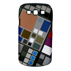 Abstract Composition Samsung Galaxy S Iii Classic Hardshell Case (pc+silicone)