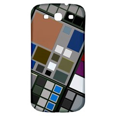Abstract Composition Samsung Galaxy S3 S Iii Classic Hardshell Back Case