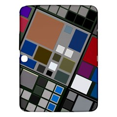 Abstract Composition Samsung Galaxy Tab 3 (10 1 ) P5200 Hardshell Case