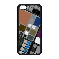 Abstract Composition Apple Iphone 5c Seamless Case (black)