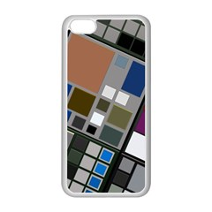 Abstract Composition Apple Iphone 5c Seamless Case (white)