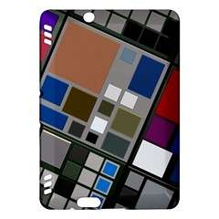 Abstract Composition Kindle Fire Hdx Hardshell Case