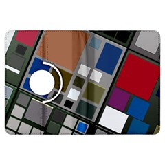 Abstract Composition Kindle Fire Hdx Flip 360 Case