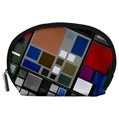 Abstract Composition Accessory Pouches (large)