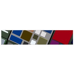 Abstract Composition Flano Scarf (small)