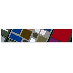 Abstract Composition Flano Scarf (large)