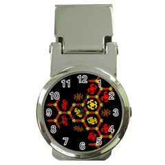 Algorithmic Drawings Money Clip Watches