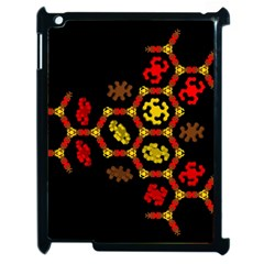 Algorithmic Drawings Apple Ipad 2 Case (black)