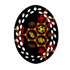 Algorithmic Drawings Ornament (oval Filigree)